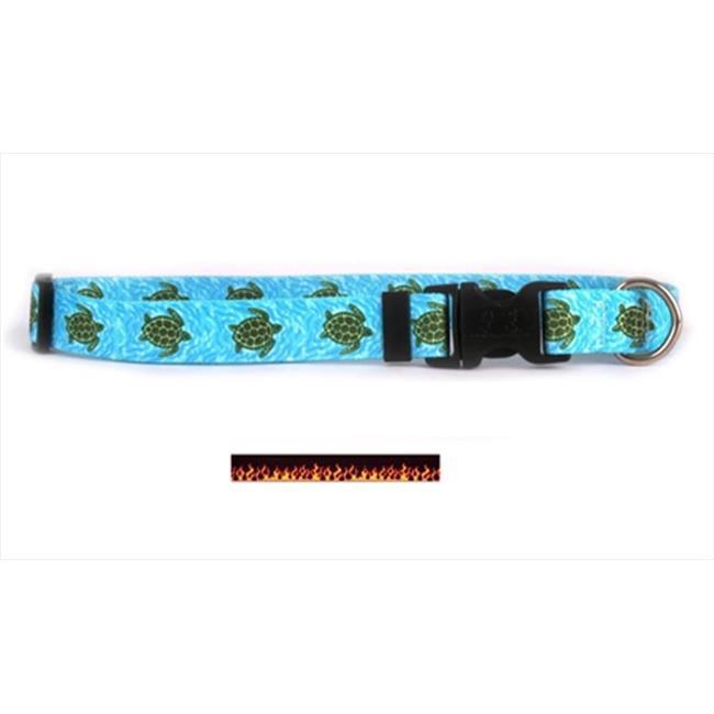 Yellow Dog Design Flames Standard Collar