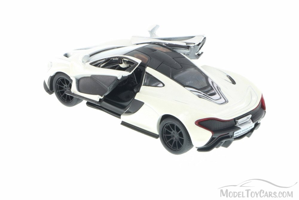 Mclaren P1 White Kinsmart 539 1 36 Scale Cast Model Toy Car Brand New But Not In Box