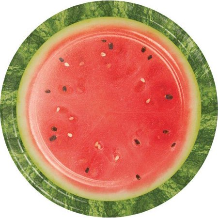 Watermelon Picnic Paper Plates, 8 ct](Watermelon Paper Plates)
