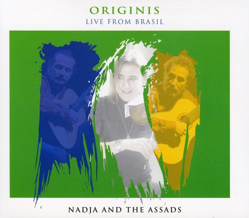 Nadja & the Assads - Origins: Nadja and the Assads Live From Brasil [CD]