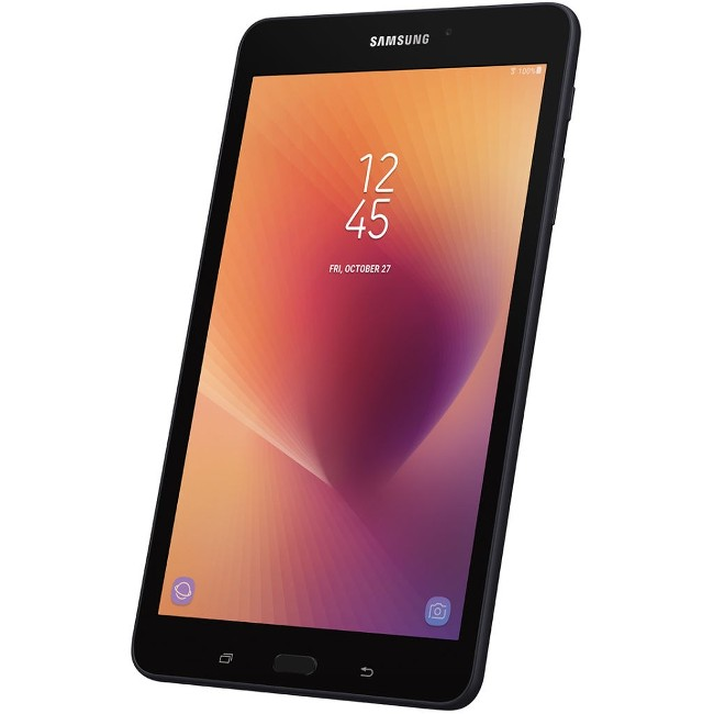 """SAMSUNG Galaxy Tab A 8"""" 32GB Android 7.1 Wi-Fi Tablet with Micro SD Card Slot, Black - SM-T380NZKEXAR"""