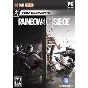 Rainbow Six Siege (Day 1), Ubisoft, PC Software, 887256301422