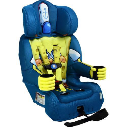 KidsEmbrace Nickelodeon SpongeBob Combination Harness Booster Car Seat
