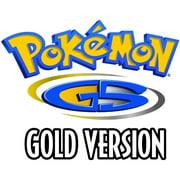 Pokemon Gold Version, Nintendo, Nintendo 3DS, [Digital Download], 0004549668201