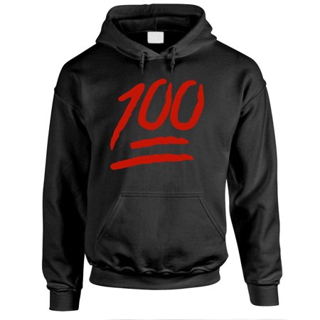 1 HUNNID hip hop rap one 100 hundred points - Fleece PULLOVER Hoodie Hip Hop Hoodie