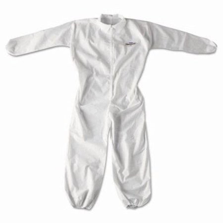 KleenGuard A20 Particle Protection Coveralls, Zip Closure, 2XL, White - Kleenguard Ultra Coveralls