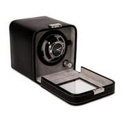Black Leather Watch Winder - 6L x 5.25W x 5.5H in.
