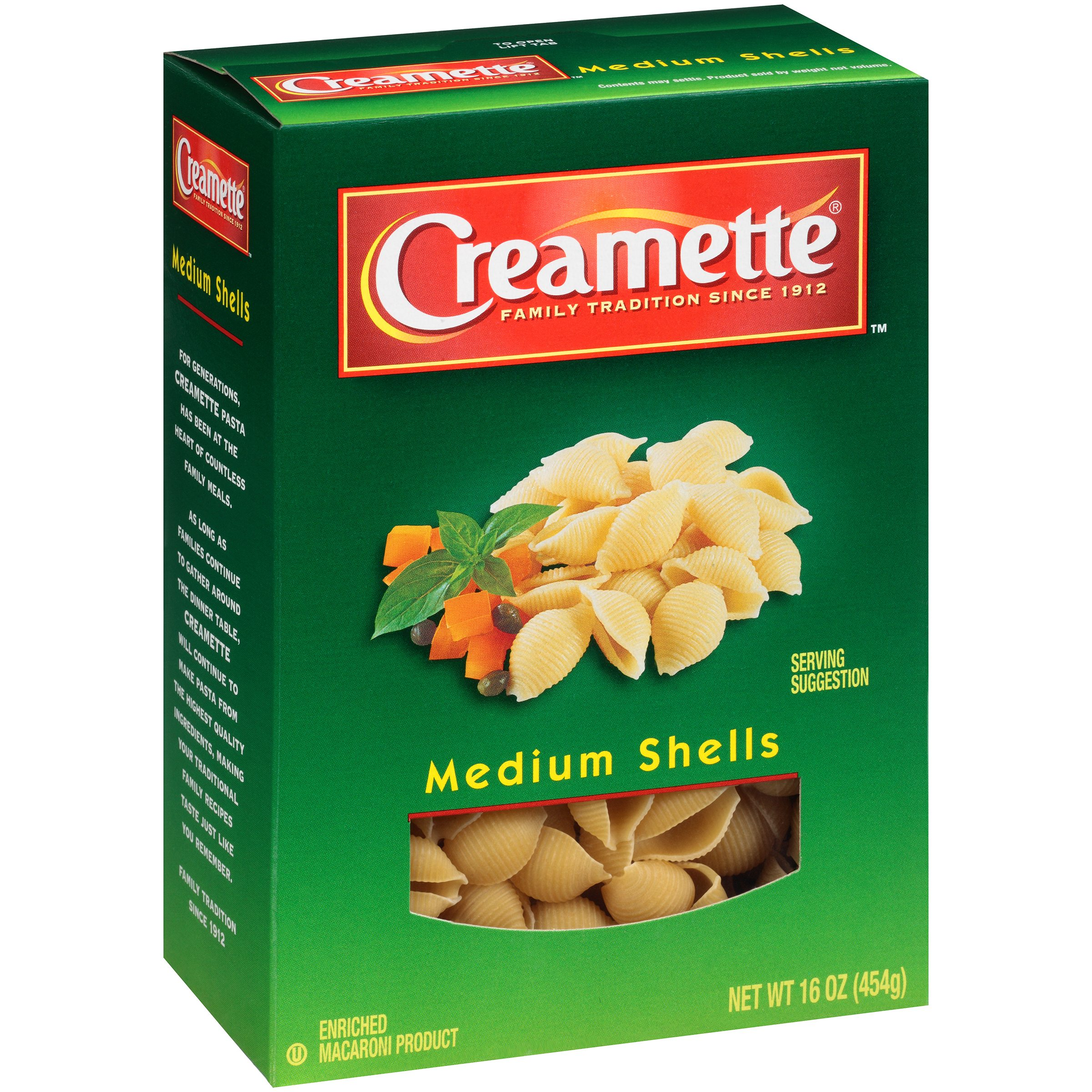 (12 Pack) Creamette® Medium Shells, 16 oz. Box