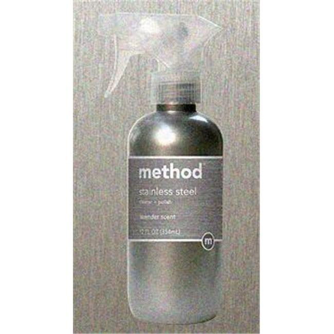 METHOD 00084-7 12 oz STAINLESS CLNR Case of 6
