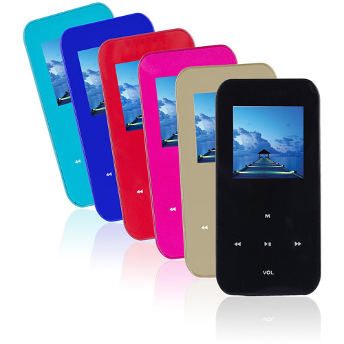 Ematic 4GB Video MP3 Player, Black, EM174VIDL
