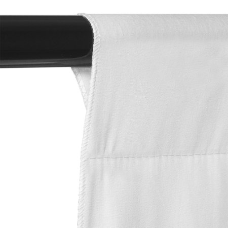 Zimtown 5x10 FT Screen 100% Non-woven Fabric Backdrop Photo Photography Background White - image 3 de 8