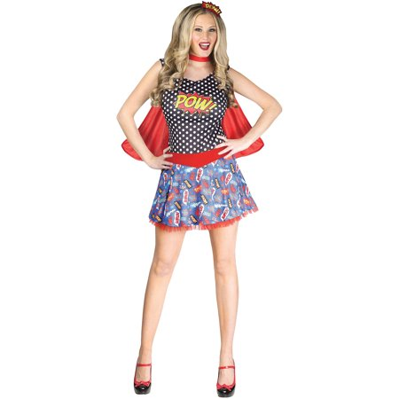Comic Book Cutie Adult Halloween Costume