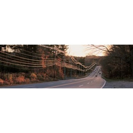 Route 20 MA USA Canvas Art - Panoramic Images (18 x 6)