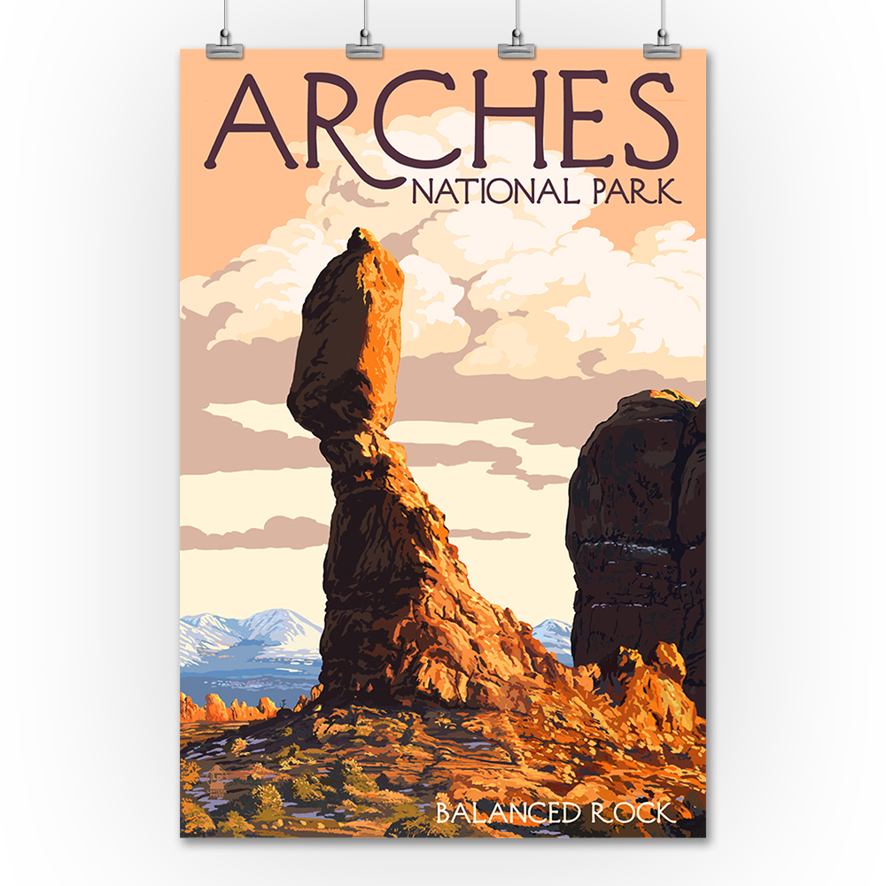 Arches National Park, Utah - Balanced Rock - Lantern Pres...