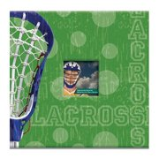"Sport & Hobby Post Bound Album 12""X12""-Lacrosse"
