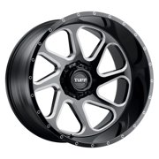 "26"" Inch 8x165.10 Wheel Rim TUFF T2B 26x14 -72mm Gloss Black"