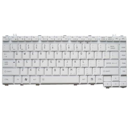 New Genuine Toshiba Satellite A200 A205 A210 Gray US Keyboard KFRSBA100A