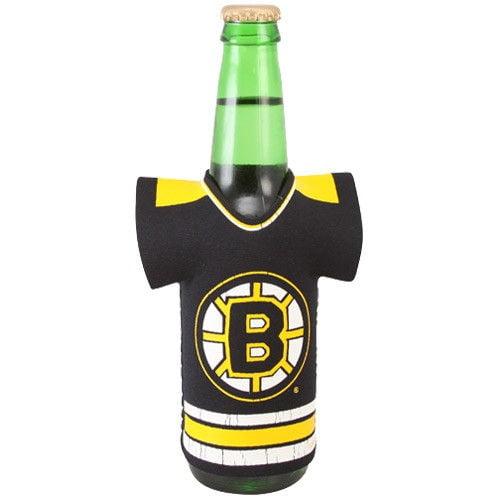 Boston Bruins Black Jersey 12oz. Bottle Cooler - No Size