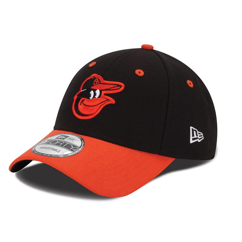 Baltimore Orioles New Era Men's League 9Forty Adjustable Hat - Black  -- - OSFA
