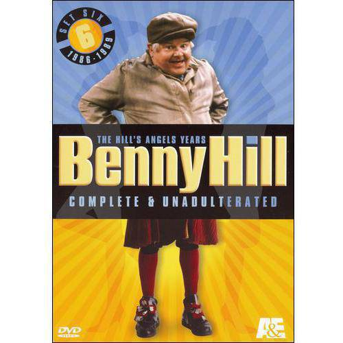 Benny Hill: Complete & Unadulterated: Set 6 (1986-1989)