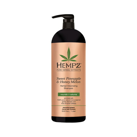 Hempz Sweet Pineapple & Honey Melon Herbal Volumizing Shampoo 33oz