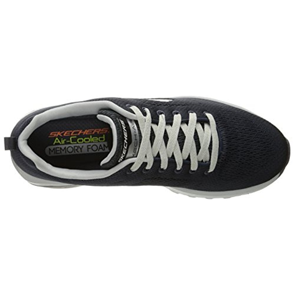 Skechers Sport Men's Skech Air Extreme Natson Fashion Sneaker, CharcoalGray, 8.5 M US