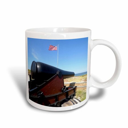 3dRose Fort Massachusetts, Civil War site, Mississippi - US25 FVI0019 - Franklin Viola, Ceramic Mug, 15-ounce