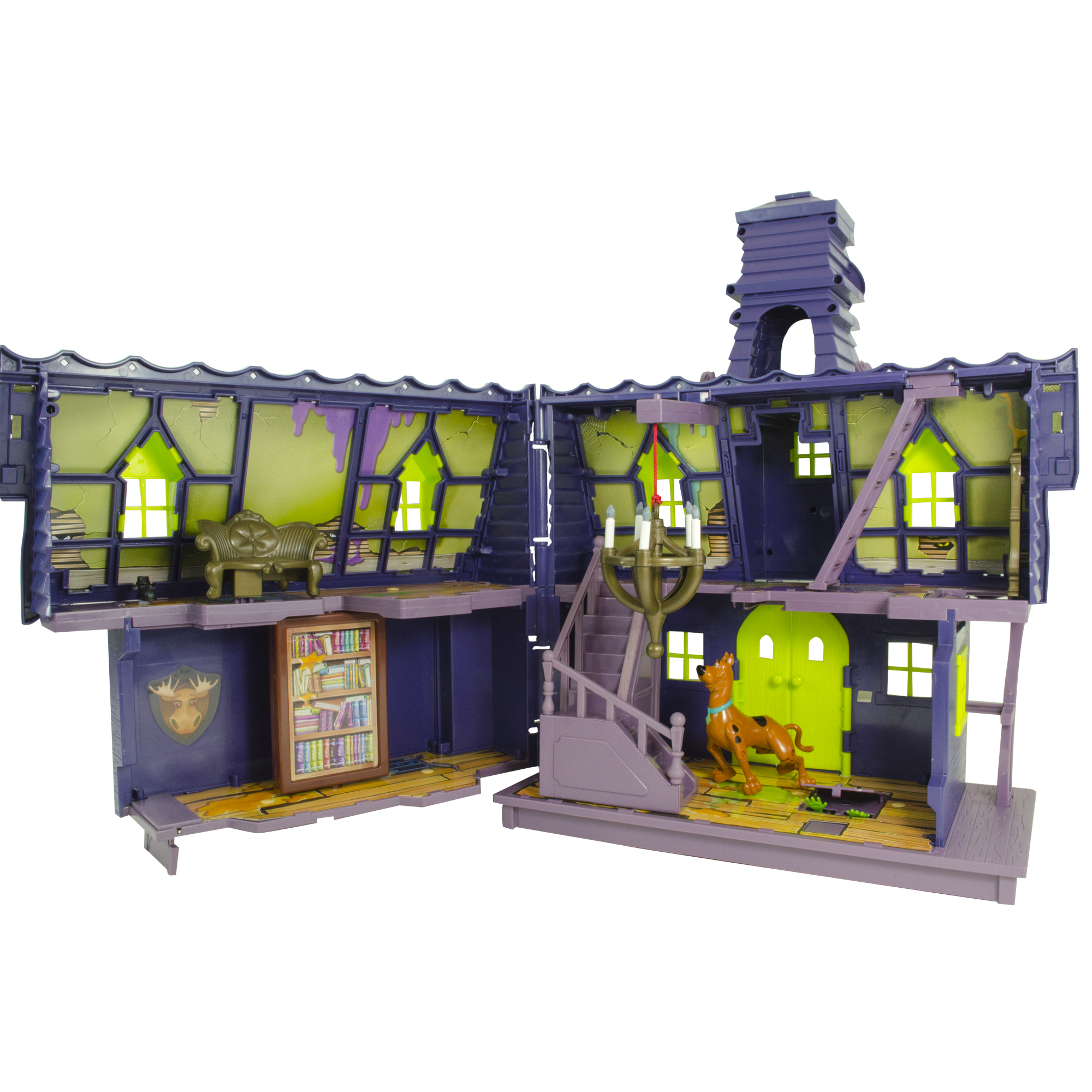 Scooby Doo Goo Crew Mystery Mansion with Goo Turret Playset
