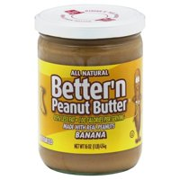 Better'n Peanut Butter Natural Spread, Banana, 16 Oz
