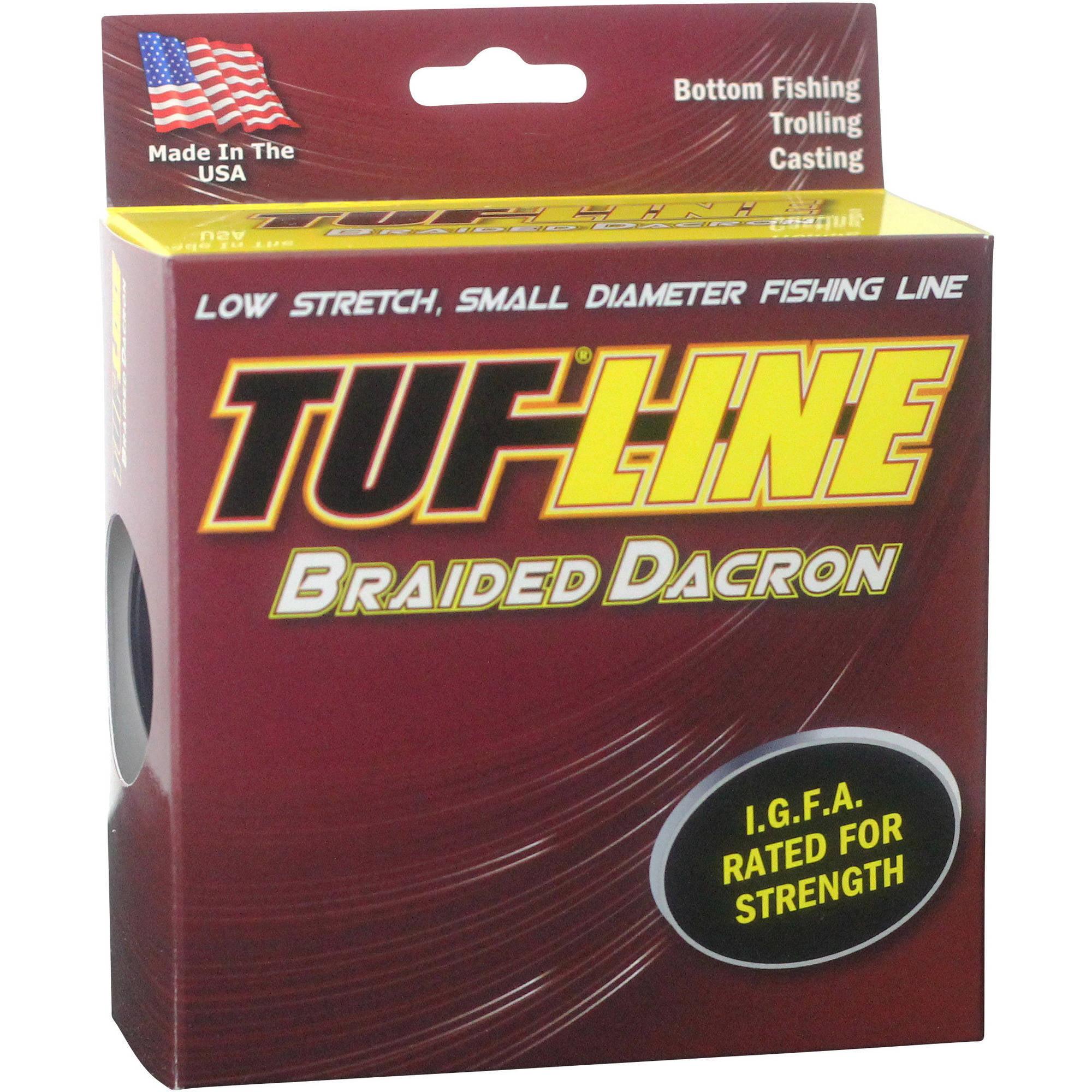 Tuf-Line Dacron Green Sport 130 LB X 300 YD Fishing Line by Tuf-Line