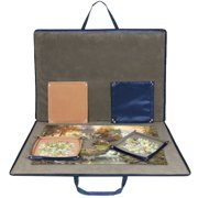 Lavievert Jigsaw Puzzle Case Storage For Up To 1,500 Pieces