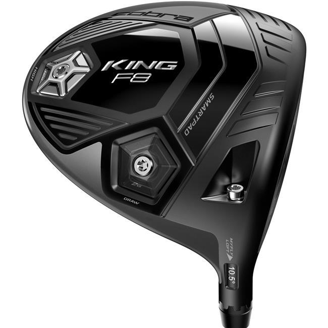 Cobra Golf King F8 Adjustable Nardo Grey Driver PRECISION MILLED - Pick Club