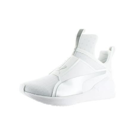 size 40 13148 22498 Puma Fierce Core Women's Shoes Puma White/Puma Silver 188977-13
