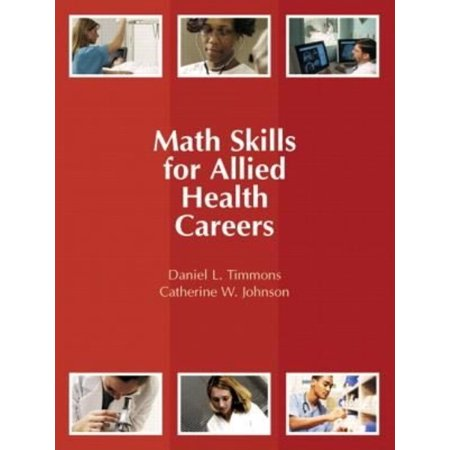 Math skills for allied health careers walmartcom for Allied health careers