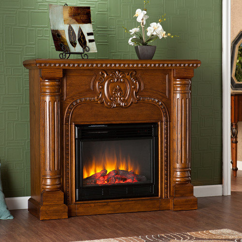 Wildon Home  Crawford Electric Fireplace