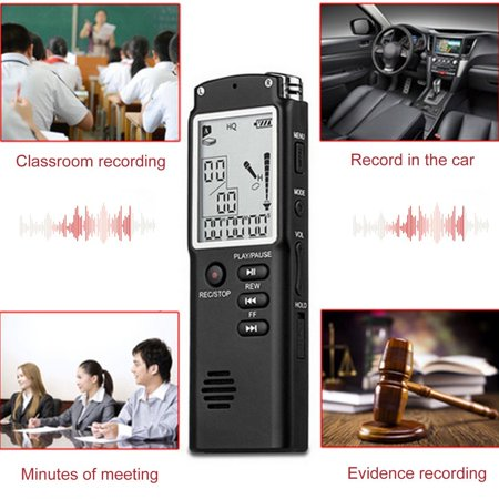 Mini T60 Professional Voice Recording Device Time Display