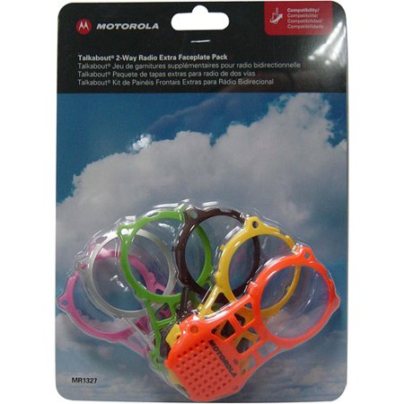 Motorola MR1327 6-Color Faceplate Pack for MR Series