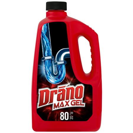 Drano Max Gel Clog Remover, 80 fl oz