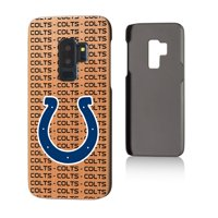 Indianapolis Colts Galaxy Text Backdrop Design Cherry Case