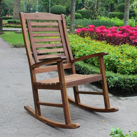 ... Caravan Palmdale Contemporary Outdoor Rocking Chair - Walmart.com
