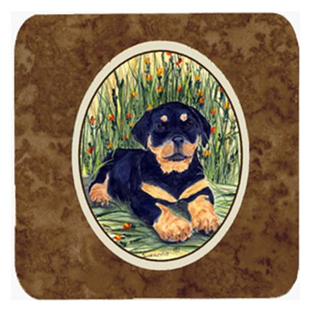 Rottweiler Foam Coasters - Set 4 - image 1 of 1