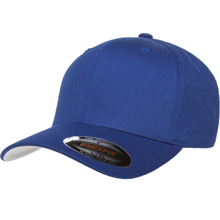 90f9dacb The Hat Pros Blank Flexfit V-Flexfit Cotton Twill Fitted Hat Cap Flex Fit  5001 XXL – Royal - Walmart.com