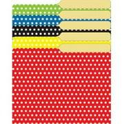 Top Notch Teacher Products TOP3376 Mini File Folders Assorted Polka- Dots