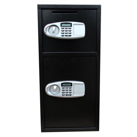 Ktaxon Large Double Door Digital Keypad Deposit Safe Cash Jewelry Gun Drop Security Lock -