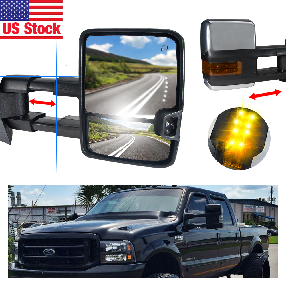 Penton Audio USA Towing Mirrors for 07-14 Silverado/ Sier...