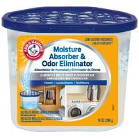 Arm & Hammer Moisture Absorber and Odor Eliminator Tub, 14 oz.