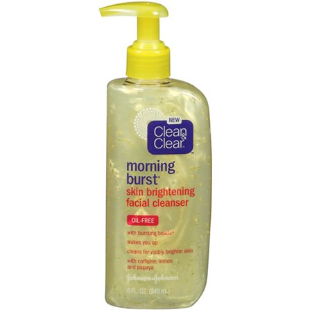 Clean and clear morning burst cleanser