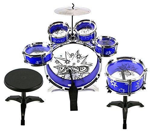 Velocity Toystm 11 Piece Children S Kid S Toy Drum Set Musical