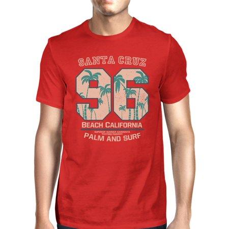 Santa Cruz Beach California Graphic Summer Tshirt For Men Gift Idea