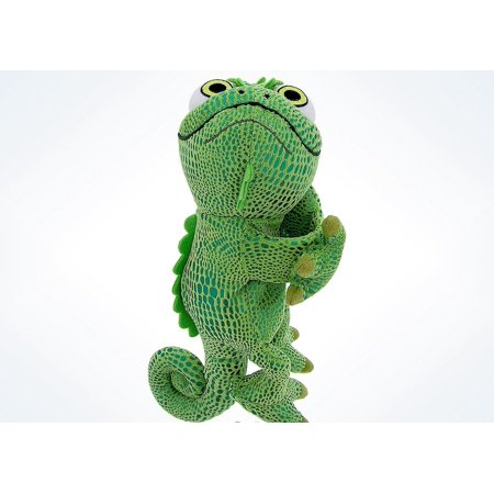 Disney Parks Pascal from Rapunzel Plush Snuggle Snapper New with Tag